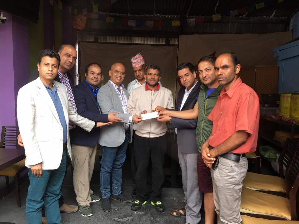 स्वर्गीय सुदिप उप्रेतीको पार्थीव शरिर नेपाल लैजान झापाली समाज अष्ट्रेलिया द्वारा संकलन गरीएको रकम आवश्यकता भन्दा बढि